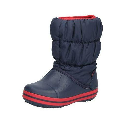 Crocs Śniegowce 'Winter Puff Boot Kids' granatowy / czerwony