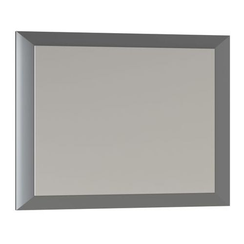 Lustro prostokątne Mirano Vena 75 x 60 cm w ramie szare (5908271108287)