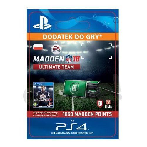 Sony Madden nfl 18 1050 punktów [kod aktywacyjny] (0000006200354)