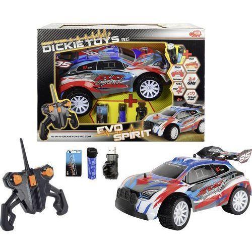 Dickie toys Samochód rc dla początkujących  evo spirit, elektryczny, 290 mm, rtr, kategoria: jeżdżące