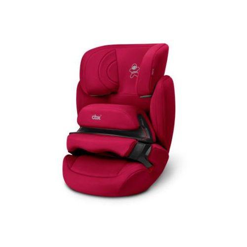 Cbx fotelik samochodowy aura crunchy red - kolor czerwony