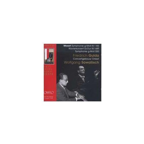 Symphonie Nr. 25 G - Moll Kv 183 / Klavierkonzert Nr. 14 Es - Dur Kv 449 - sprawdź w wybranym sklepie