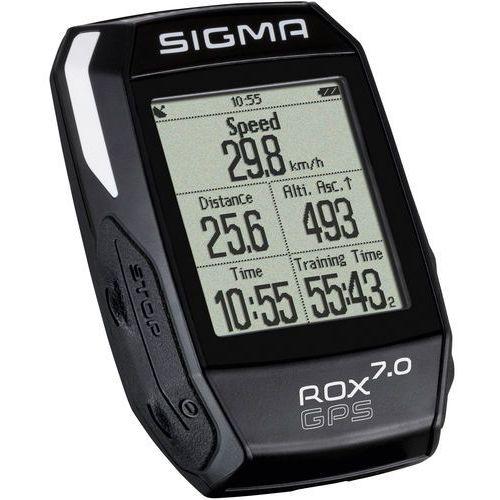 Sigma licznik rox gps 7.0 czarny (4016224010042)