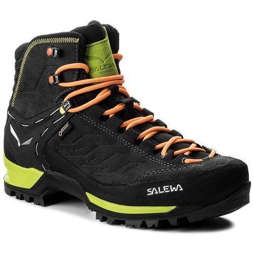 Trekkingi SALEWA - Mtn Trainer Mid Gtx GORE-TEX 63458-0974 Black/Sulphur Spring, w 2 rozmiarach