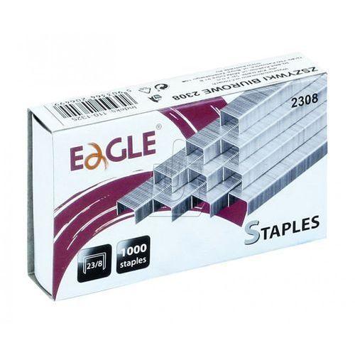 Zszywki Eagle 23/6 do 40 kartek, BP2896