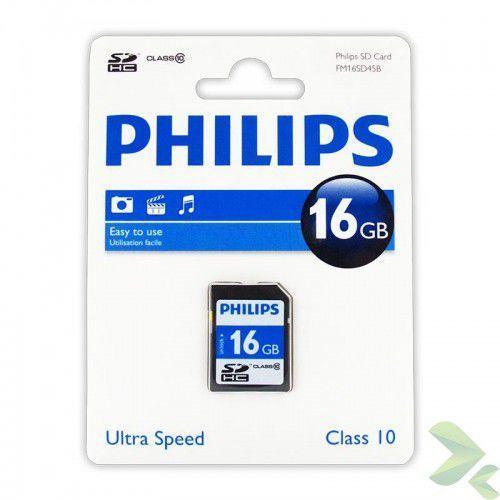 karta pamięci sdhc 16gb class 10 marki Philips