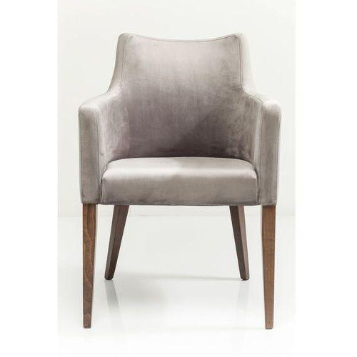 KARE Design:: Krzesło z podłokietnikiem Mode szare - szary, kolor szary