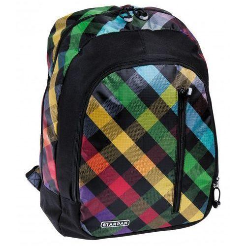Plecak Checkered, kolor czerwony