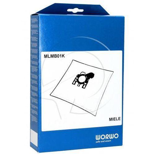 MLMB01K Worki Perfect Bag (4szt.) + filtr wlotowy (1szt.) do odkurzacza Miele