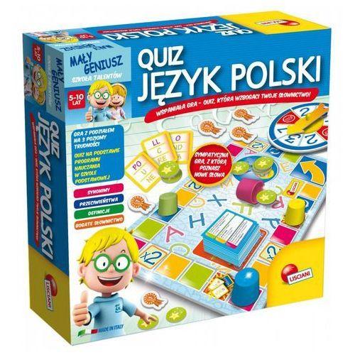 Liscianigiochi Mały Geniusz, Quiz - Jezyk Polski