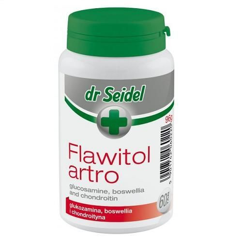 DERMAPHARM Dr Seidel Flawitol Artro na zdrowe stawy i mięśnie