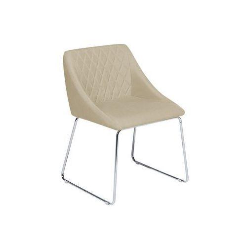 Krzesło do jadalni beżowe arcata marki Beliani