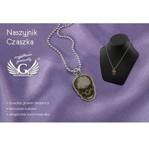 Naszyjnik czaszka - z dowolnym grawerem - nsz002 marki Grawernia.pl - grawerowanie i wycinanie laserem