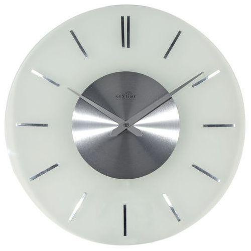 - zegar ścienny stripe radio controlled marki Nextime
