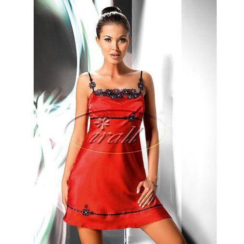 Koszulka nocna model mirabelle ii 1 red marki Irall