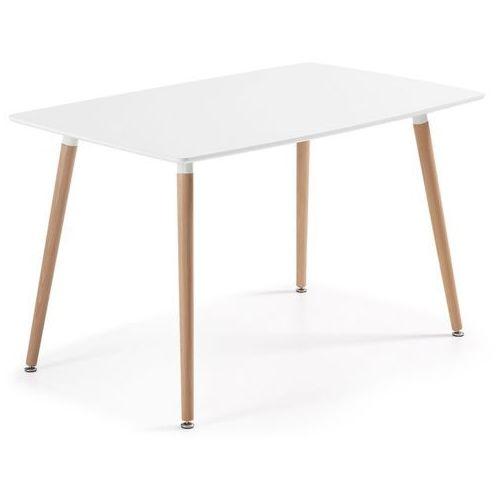 :: stół daw 140 x 80cm biały marki Laforma