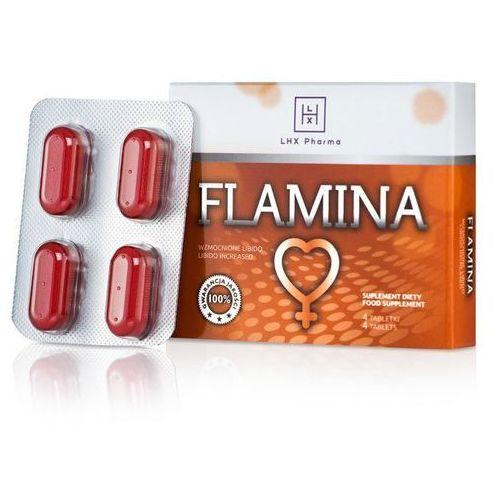 Flamina 4tab mocne na libido dla kobiet marki Lhx pharma
