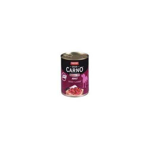 grancarno adult wołowina/ jagnięcina 400g marki Animonda