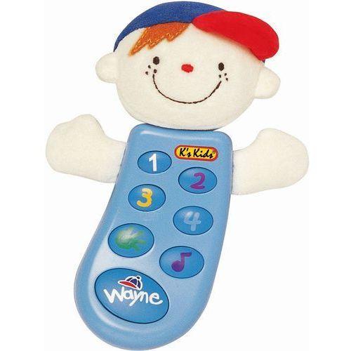 Interaktywny telefon Wesoły Wayne K's Kids
