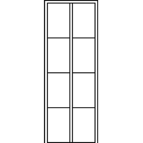 Szafa szatniowa EVOLO,z nóżkami z tworzywa, 8 przedziałów, szer. przedziału 300 mm