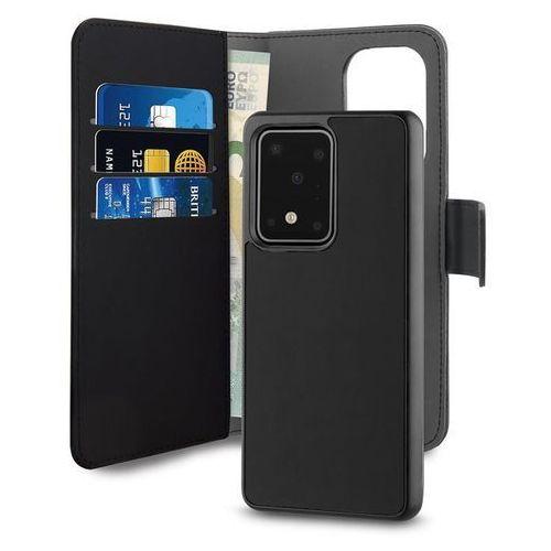 Puro Wallet Detachable Etui Portfel 2w1 Samsung Galaxy S20 Ultra (Czarny) (8033830288500)