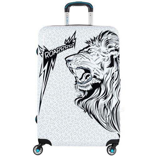 Bg berlin urbe duża walizka na 4 kółkach / 78 cm / roar - czarny ||biały (6906053050860)