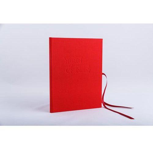 Limiq Mini album na zdjęcia z grawerem you & me - ręcznie wykonany