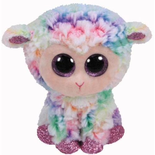 Maskotka TY INC Beanie Boos Daffodil - tęczowa owieczka 15cm 37274 (0008421372744)