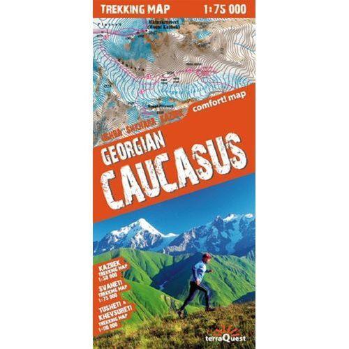 Gruzja Kaukaz Laminowana Mapa Trekingowa 1:75 000, ExpressMap