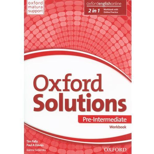 Oxford Solutions Pre-Intermediate WB (120 str.)