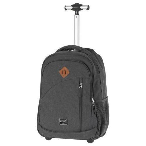 Travelite Basics plecak na kółkach / kabinowy 20/47 cm / antracytowy - antracytowy