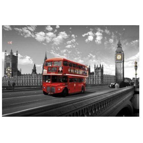 Westminster Bridge - Londyn - Czerwony Autobus - plakat, kup u jednego z partnerów