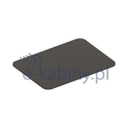 Art Ceram Fuori Scala półka do stelaża ceramiczna czarny mat TFC00317;00, TFC00317;00