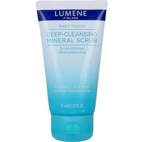 Lumene Matt Touch Deep-Cleansing Mineral Scrub 75ml W Peeling do skóry normalnej i mieszanej