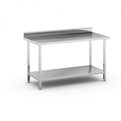Stół roboczy ze stali nierdzewnej z półką, 1500 x 700 x 850 mm