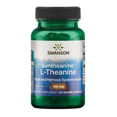 Swanson L-Teanina Suntheanine 100 mg 60 kaps.