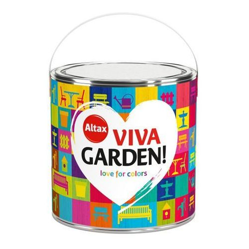 Altax Emalia akrylowa viva garden aromatyczna szałwia 2,5 l