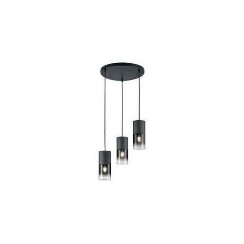 Trio Lampa wisząca leuchten robin czarny, 3-punktowe - skandynawski - obszar wewnętrzny - robin - czas dostawy: od 3-6 dni roboczych