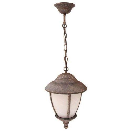 Zewnętrzna LAMPA wisząca MADRID 8479 Rabalux OPRAWA ogrodowa ZWIS antyczny outdoor retro złoto antyczne