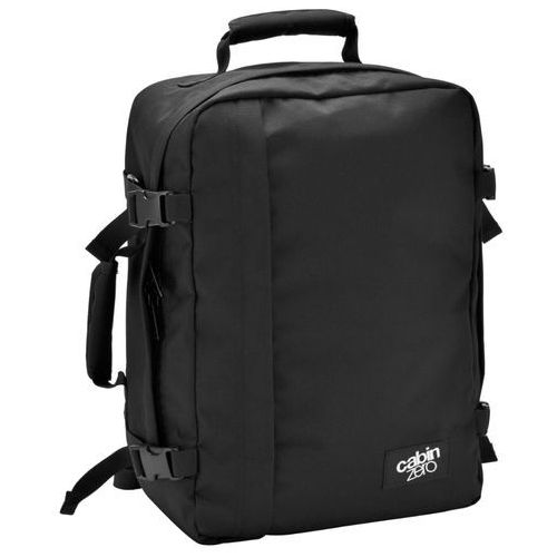 CabinZero Classic 36L torba podróżna podręczna / kabinowa / plecak / czarny - Absolute Black, kolor czarny