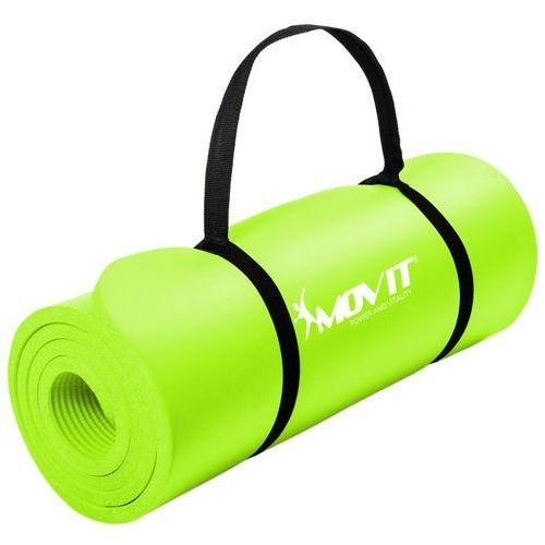 Movit ® Jasnozielona mata piankowa 190x60x1,5cm do ćwiczeń / fitness - jasnozielony / 190x60x1,5 cm (20040476)