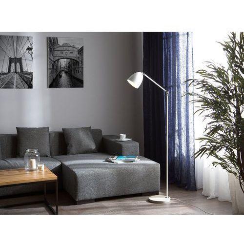 Lampa stojąca biała 165 cm chanza marki Beliani