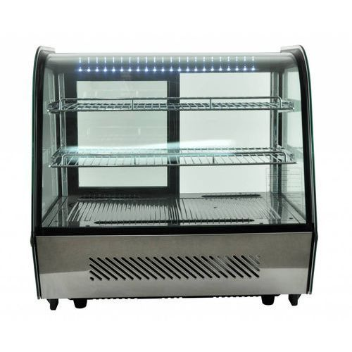 Rm gastro Witryna chłodnicza ekspozycyjna | 160l | 160w | 880x568x(h)686mm