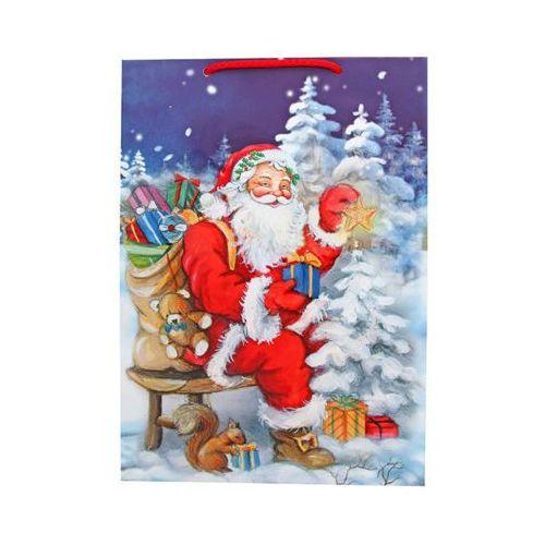 Pol mak 23x32x11cm świąteczna torba prezentowa marki Pol-mak