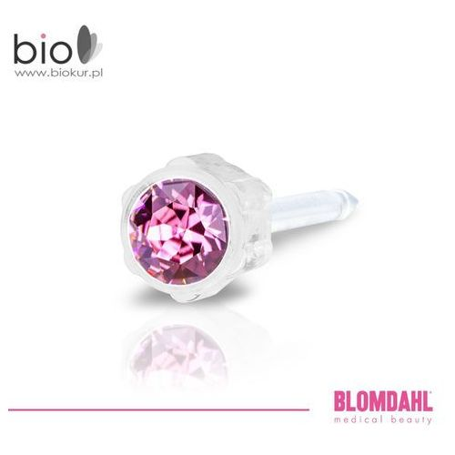 Kolczyk do przekłuwania uszu - rose 4 mm marki Blomdahl