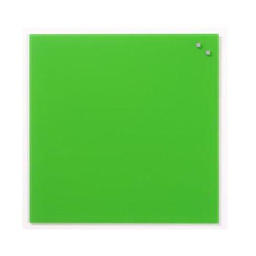 Naga Szklana tablica magnetyczna zielona 45x45 marki (5708573107526)