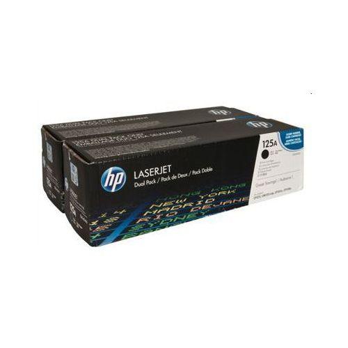 Hewlett-packard (hp) Tonery oryginalne hp 125a (cb540ad) (czarne) (dwupak) - darmowa dostawa w 24h