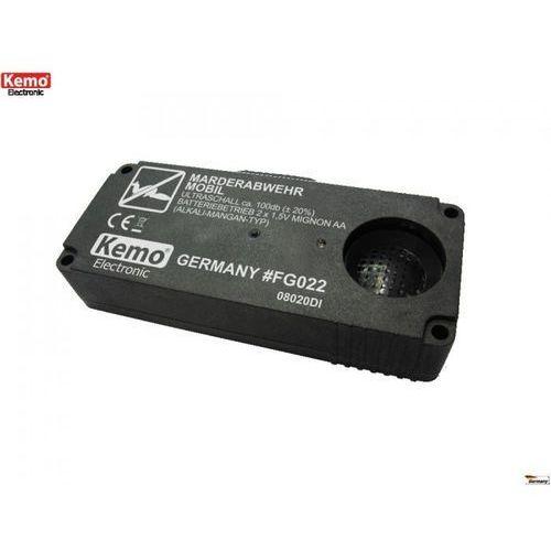Mobilny ultradźwiękowy odstraszacz kun  fg022 marki Kemo