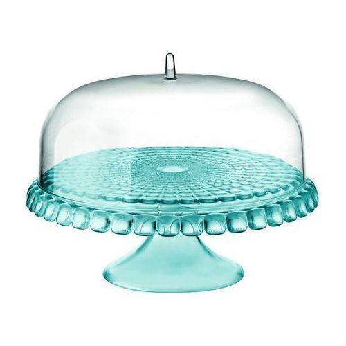 Guzzini - tiffany - patera na ciasto mała, niebieska - niebieski (8008392287797)