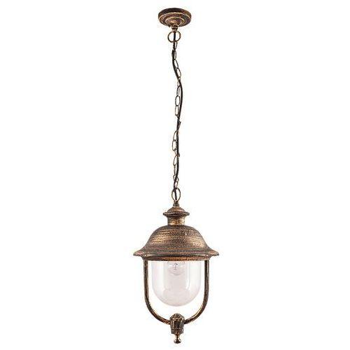 Rabalux Lampa wisząca zewnętrzna new york 1x100w e27 ip44 antyczne złoto 8699 (5998250386997)
